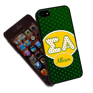 Polka Dots Sigma Alpha Phone Cover