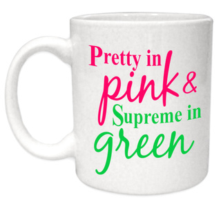 Pretty in Pink - Supreme in Green!