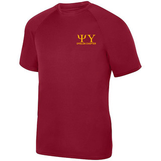 Psi Upsilon- $17.95 World Famous Dry Fit Wicking Tee