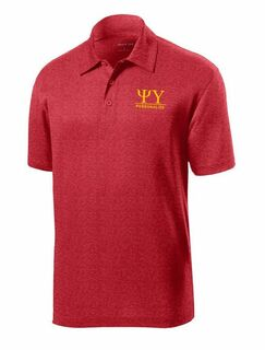Psi Upsilon- $25 World Famous Greek Contender Polo