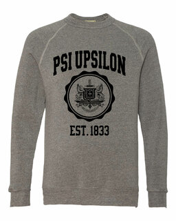 Psi Upsilon Alternative - Eco-Fleece� Champ Crewneck Sweatshirt