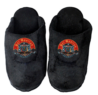 DISCOUNT-Psi Upsilon Black Solid Slipper