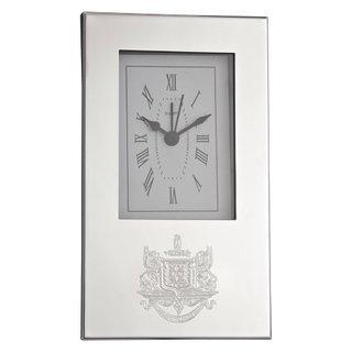 Psi Upsilon Crest Desk Clock