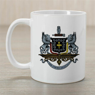 Psi Upsilon Greek Crest Coffee Mug