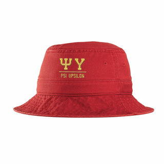 Psi Upsilon Greek Letter Bucket Hat