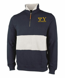 Psi Upsilon Greek Letter Quad Pullover