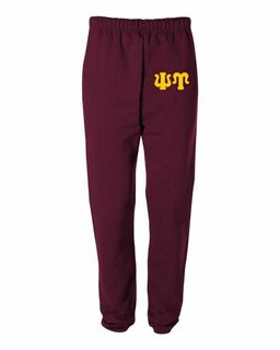 Psi Upsilon Greek Lettered Thigh Sweatpants