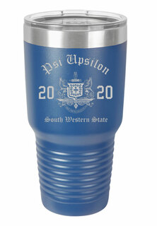 Psi Upsilon Insulated Tumbler