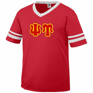DISCOUNT-Psi Upsilon Jersey With Greek Applique Letters