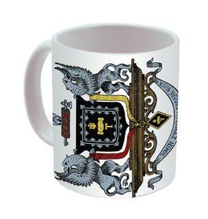 Psi Upsilon Mega Crest Coffee Mug