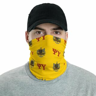 Psi Upsilon Neck Gaiters