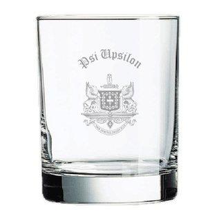 Psi Upsilon Old Style Glass