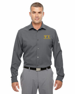 Psi Upsilon Under Armour�  Men's Ultimate Fraternity Long Sleeve Buttondown