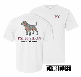 Psi Upsilon United We Stand Comfort Colors T-Shirt