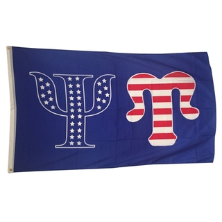 Psi Upsilon USA Greek Letter Flag