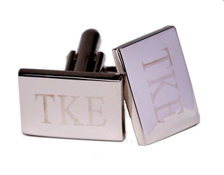 Rectangle Fraternity Cufflinks