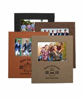 Fraternity Saddle Photo Frame