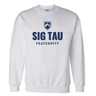 Sig Tau Fraternity Crewneck Sweatshirt
