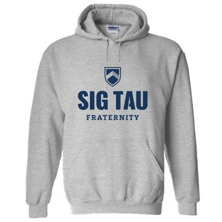 Sig Tau Fraternity Hooded Sweatshirt