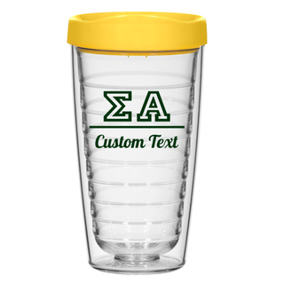 Sigma Alpha 16oz. Double Wall Tumbler