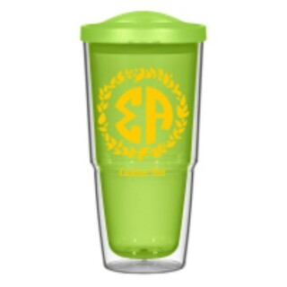 Sigma Alpha 24oz Biggie Tumbler with Lid