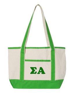 Sigma Alpha Sailing Tote Bag