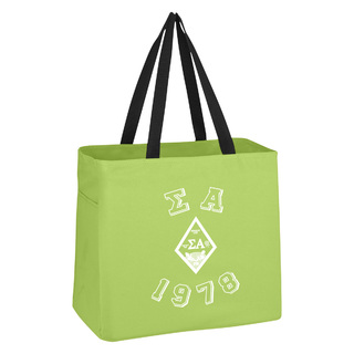 Sigma Alpha Block Crest - Shield Cape Town Bag