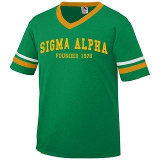 Sigma Alpha Boyfriend Style Founders Jersey