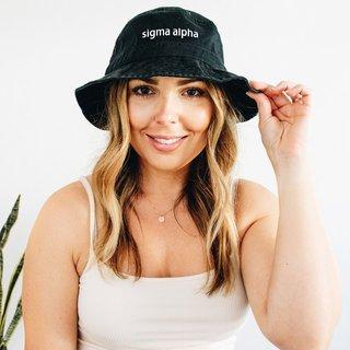 Sigma Alpha Bucket Hat