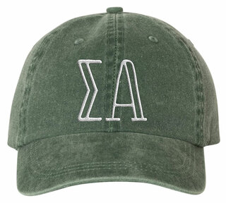 Sigma Alpha Carson Greek Letter Hats