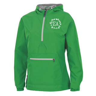 Sigma Alpha Chatham Anorak Solid Pullover