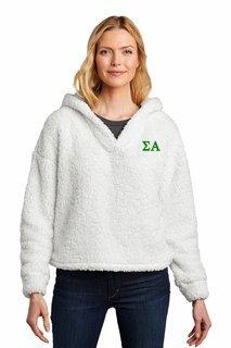 Sigma Alpha Cozy Fleece Hoodie