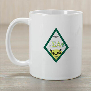Sigma Alpha Crest Coffee Mug