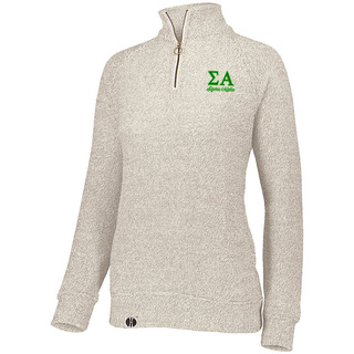 Sigma Alpha Cuddly 1/4 Zip Pullover