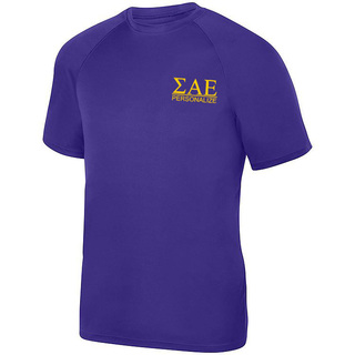 Sigma Alpha Epsilon- $15 World Famous Dry Fit Wicking Tee