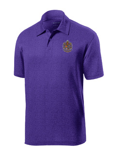 DISCOUNT-Sigma Alpha Epsilon- World Famous Greek Crest - Shield Contender Polo