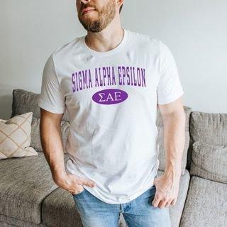 Sigma Alpha Epsilon arch tee