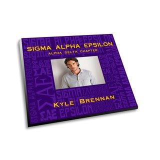 Sigma Alpha Epsilon Collage Picture Frame