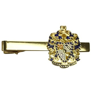 Sigma Alpha Epsilon Color Crest - Shield Tie Clips