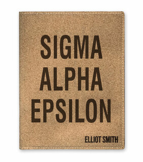 Sigma Alpha Epsilon Cork Portfolio with Notepad