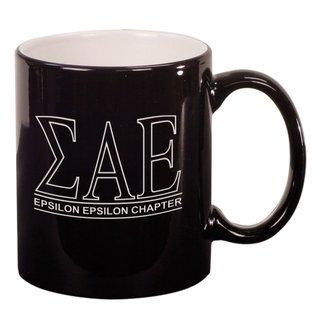 Sigma Alpha Epsilon Custom Ceramic Coffee Mug