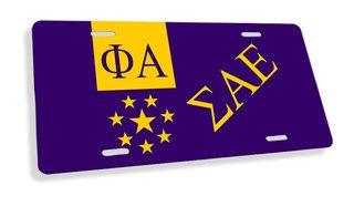 Sigma Alpha Epsilon Flag License Cover