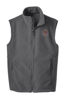 Sigma Alpha Epsilon Fleece Crest - Shield Vest
