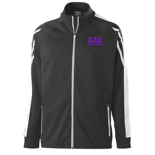 Sigma Alpha Epsilon Flux Track Jacket