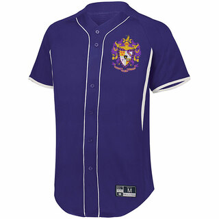 Sigma Alpha Epsilon Game 7 Full-Button Baseball Jersey 1bb5317af22