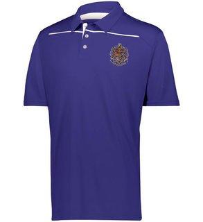 Sigma Alpha Epsilon Greek Crest Emblem Defer Polo