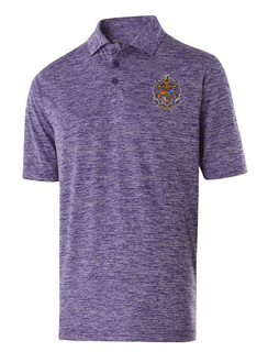 Sigma Alpha Epsilon Greek Crest Emblem Electrify Polo