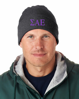 Sigma Alpha Epsilon Greek Letter Knit Cap