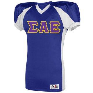 Sigma Alpha Epsilon Snap Football Jersey