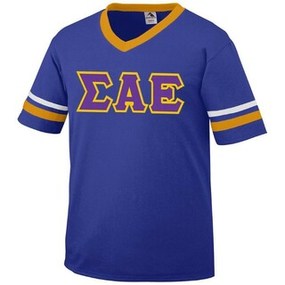 DISCOUNT-Sigma Alpha Epsilon Jersey With Custom Sleeves